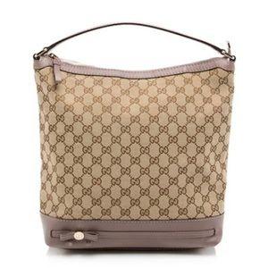 Gucci GG Canvas Mayfair Hobo Bag